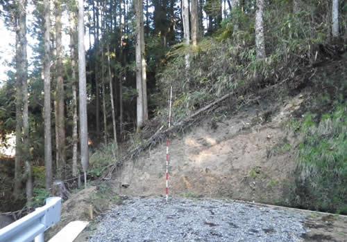 開設工事前の状況の写真