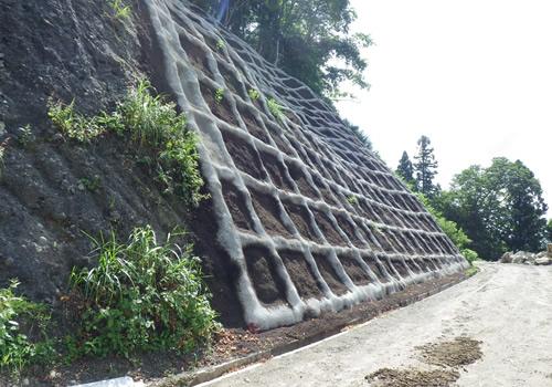 災害復旧工事完成後の写真