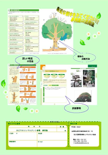 樹木の診断!事例集の販売案内の写真2